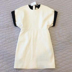 NWT Isabel Marant White Leather mini dress